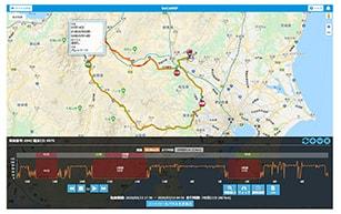 docomap GPS 2.0の端末